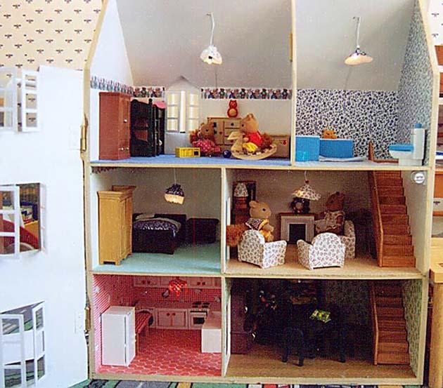 construire maison sylvanian. Black Bedroom Furniture Sets. Home Design Ideas
